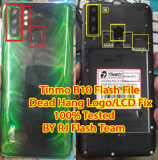 Tinmo B10 Flash File Dead Hang Logo Fixed Without Password